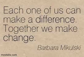 Together make a difference